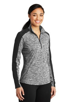Ladies Posicharge 1/4 Zip Pullover (LST397) - Heim Middle