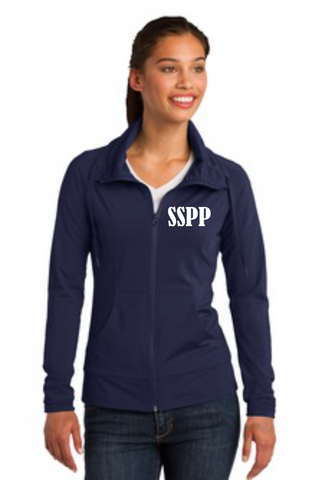 Ladies Stretch Full Zip Jacket - (LST852) - SSPP
