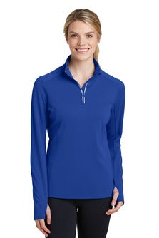Ladies 1/4 Zip Performance Pullover (LST860) - SMSD