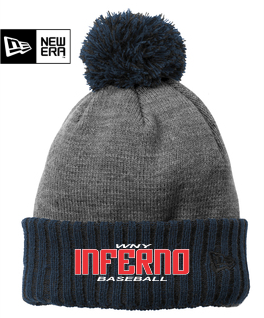New Era Colorblock Cuffed Beanie (NE904) - Inferno