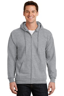 Full-Zip Hooded Sweatshirt (PC90ZH) - Heim Elementary