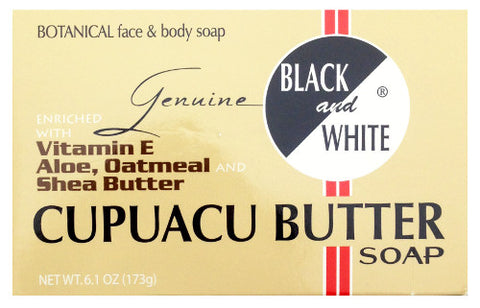 Black and White® Cupuacu Butter Soap