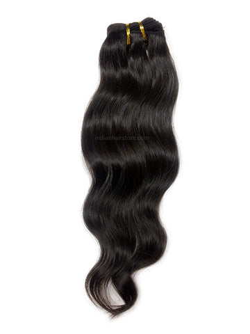 Natural Unprocessed Indian Hair Wavy (One Donor)