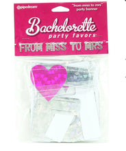 "Load image into Gallery viewer, Bachelorette Party Favors ""From Miss to Mrs"" Party Banner"