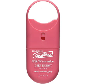GoodHead Deep Throat Spray To Go-Watermelon.33oz