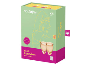 Satisfyer Feel Confident Menstrual Cups