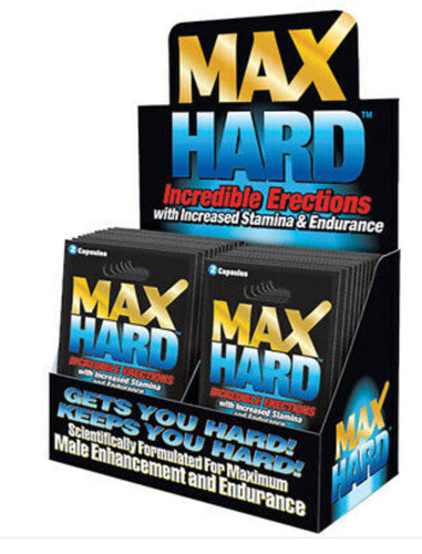 Max Hard 2 Pills- Longer and harder erection