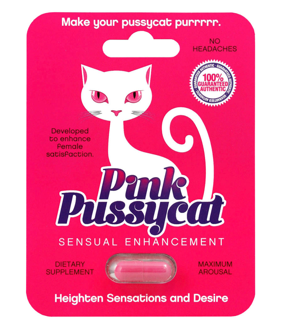 Pink Pussycat Female Sexual Supplement