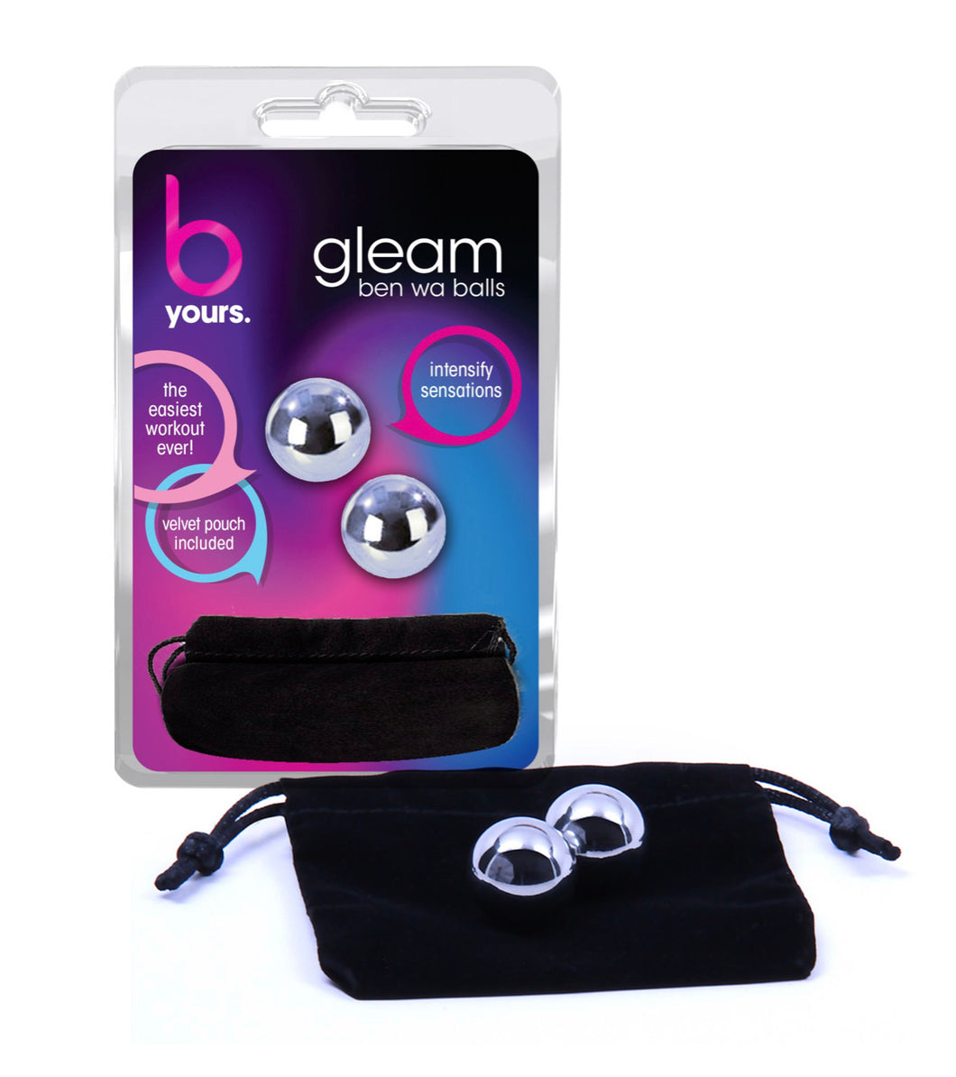 B Yours – Gleam Stainless Steel Kegel Balls