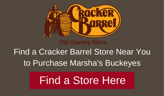 Marshas buckeyes candies at Cracker Barrel