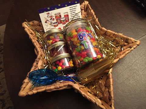 nut-free candy holiday gift basket