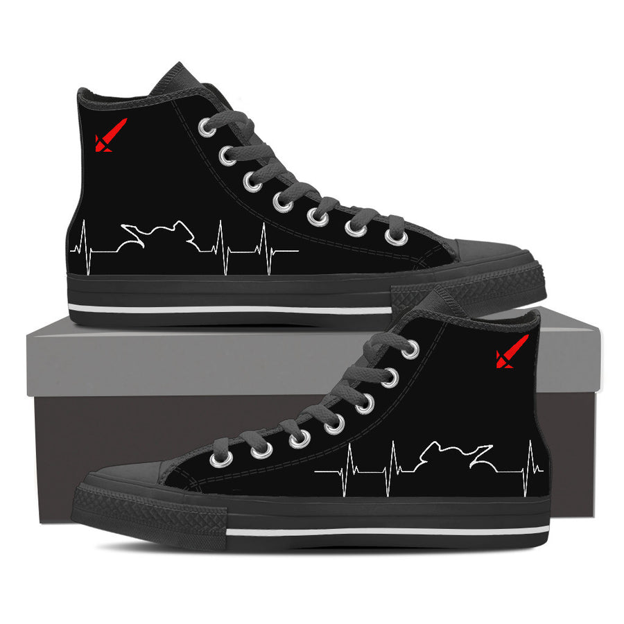 Bike Heartbeat Hightops
