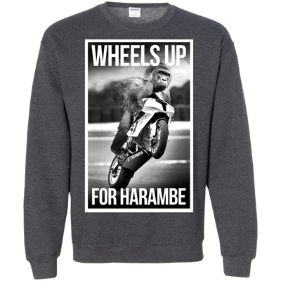 Wheels Up for Harambe Hoodie - RevMafia