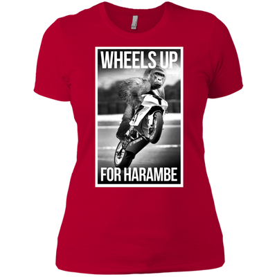 Wheels Up for Harambe - Ladies - RevMafia