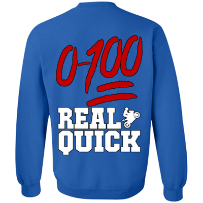 0-100 Real Quick Hoodie - RevMafia