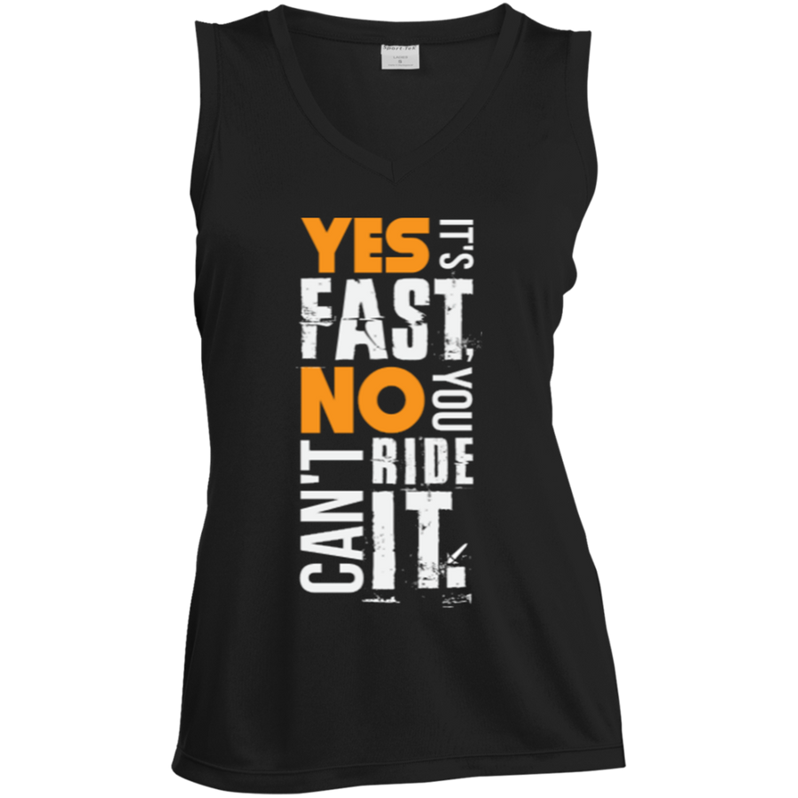 Yes It's Fast Dri-Fit Ladies