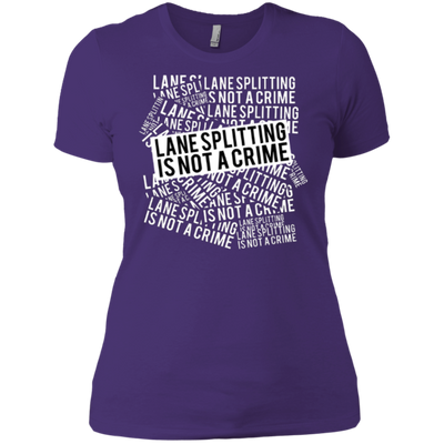 Lane Splitting Is Not A Crime - Ladies - RevMafia