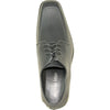 ALLURE MEN Dress Shoe AL01 Oxford Formal Tuxedo for Prom & Wedding Steel - Wide Width Available