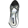 VANGELO Women Sandal BABS-4 Heel Party Prom & Wedding Sandal Black