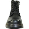 BRAVO Men Boot DEAN-15 Casual Winter Fur Boot - Water Proof Black