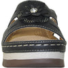 VANGELO Women Sandal DESTINY Wedge Sandal Black