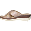 VANGELO Women Sandal HAVEN Comfort Wedge Sandal Champagne