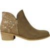VANGELO Women Boot HF0400 Ankle Dress Boot Taupe