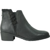 VANGELO Women Boot HF0402 Ankle Dress Boot Black