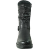 VANGELO Waterproof Women Boot HF0601 Ankle Winter Fur Casual Boot Black