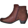 VANGELO Women Boot HF8403 Ankle Dress Boot Bordo Red
