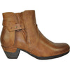 VANGELO Women Boot HF8404 Ankle Dress Boot Brown