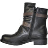VANGELO Women Boot HF8406 Ankle Casual Boot Black