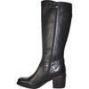 VANGELO Women Boot HF8412 Knee High Dress Boot Black