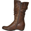 VANGELO Women Boot HF8415 Knee High Casual Boot Brown