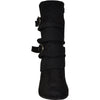 VANGELO Women Boot HF8418 Knee High Casual Boot Black