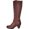 VANGELO Women Boot HF8422 Knee High Dress Bordo Red