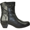 VANGELO Women Boot HF9431 Ankle Dress Boot Black
