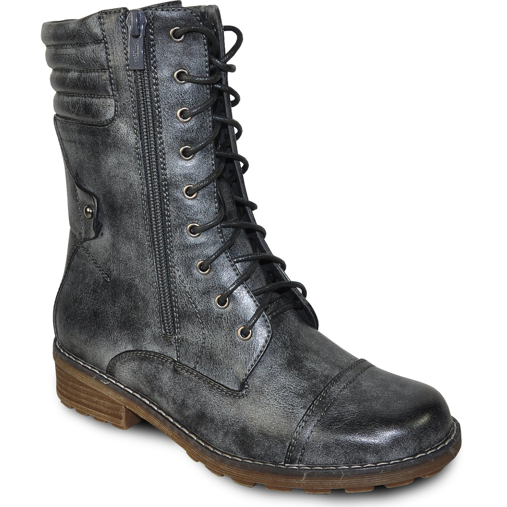 VANGELO Water Proof Women Boot HF9434 Ankle Casual Boot Coal Grey