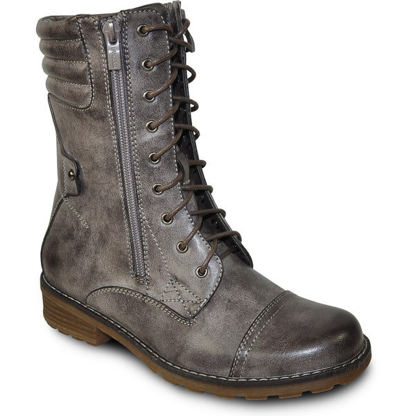 VANGELO Water Proof Women Boot HF9434 Ankle Casual Boot Cool Brown