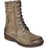VANGELO Water Proof Women Boot HF9434 Ankle Casual Boot Taupe Brown