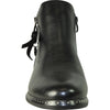 VANGELO Women Boot HF9442 Ankle Casual Boot Black
