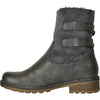 VANGELO Women Water Proof Boot HF9537 Ankle Winter Fur Casual Boot Grey