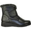 KOZI Women Boot JL4531 Ankle Winter Fur Casual Boot Black