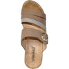 VANGELO Women Sandal JONI Wedge Sandal Taupe Brown