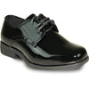JEAN YVES Boy JY01KID Dress Shoe Formal Tuxedo for Prom & Wedding Black Patent