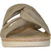 VANGELO Women Sandal KENZIE Wedge Sandal Taupe Brown