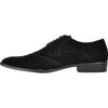 BRAVO Men Dress Shoe KING-3 Wingtip Oxford Shoe Black