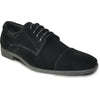 VANGELO Men Dress Shoe KING-4 Oxford Formal Tuxedo for Prom and Wedding Black - Wide Width Available - Ortholite Insole