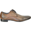 BRAVO Men Dress Shoe KLEIN-1 Oxford Shoe Brown