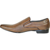 BRAVO Men Dress Shoe KLEIN-3 Loafer Shoe Brown